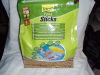 For sale Tetra pond sticks for fish tank / aquarium or pond