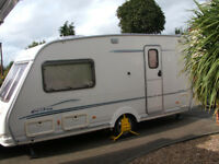 Sterling Eccles Amber 2002 2 berth with motor mover