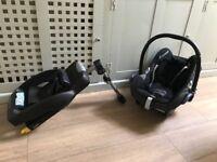 Maxi-cosi easy fix base and cabriofix seat