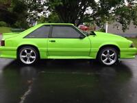 Reduced!!! Trades considered!!1989 mustang gt