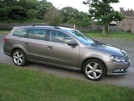 2011 VW Passat Estate 2.0TDi 140 Blue Motion SE (Bronze)