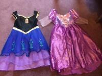 Girls princess dress up dresses 3-4