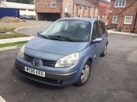2005 RENAULT GRAND SCENIC 1.6 16V MOT JANUARY 43000 MILES 7 SEATER £795 PX WELCOME