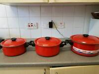 Non stick pot 3 in different size