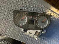 Vw Touran clocks