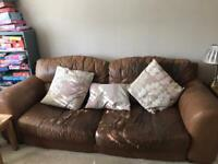 Pre loved 3 seater and 2 seater sofa