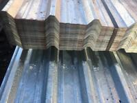 🛠 50 X 3.6M GALVANISED BOX PROFILE ROOF SHEETS ~ NEW