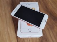 iPHONE 6S ROSE GOLD 16 GB GOOD CONDITION UNLOCKED BOX CHARGER £160