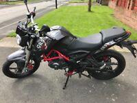 Moto ksr grs 125cc motorbike