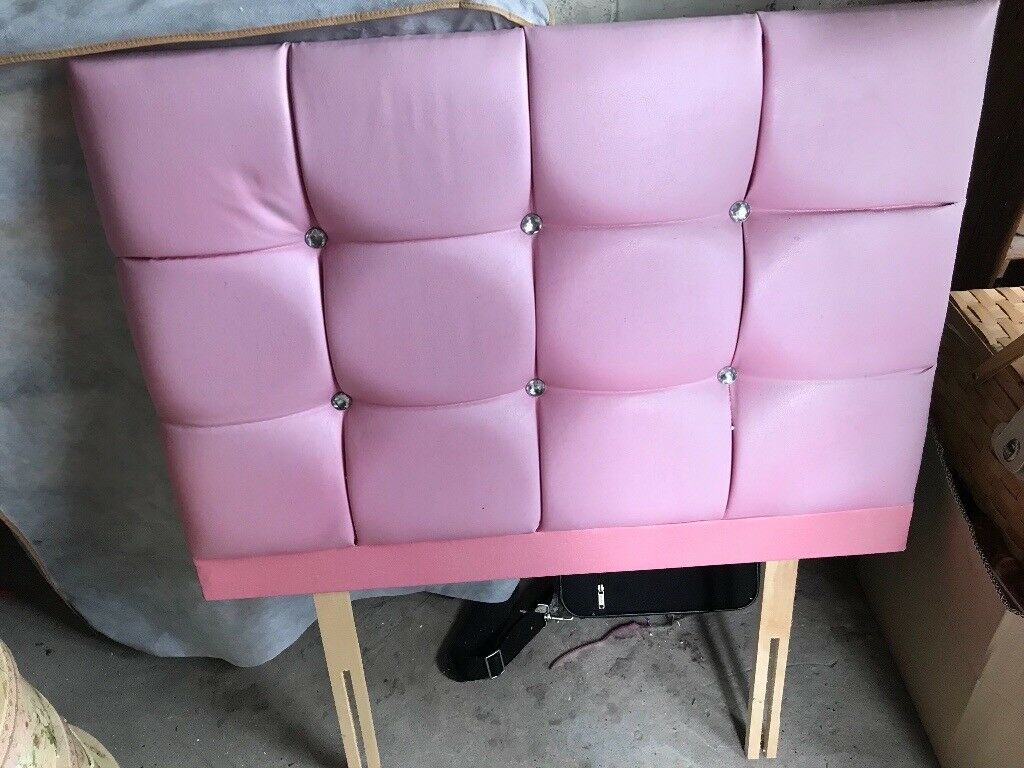 Pink Single Bed Headboard