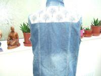 jean jacket waistcoat