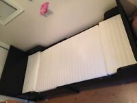 IKEA ext bed with mattress