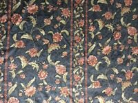 Curtains 2 pairs. Blue floral. Readymade. Good condition and clean.