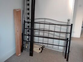 Two double bed frames