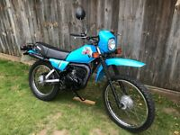 YAMAHA DT50MX 1983 CLASSIC MOPED