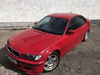 [Simmons BMW Livingston] '04 BMW E46 318d 3 series Sport Facelift Saloon BREAKING Imola Red Parts