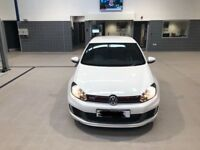 VW GOLF GTI 2010 White car for sale