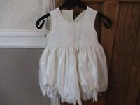 beautiful baby girl party/wedding/christening dress 6 month to 1 year new without tags