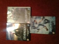 The Divergent Series ( 3 films ) dvd's for sale.