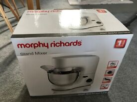 Morphy Richards Stand Mixer - new