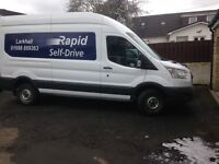 FORD TRANSIT TIPPER FOR HIRE