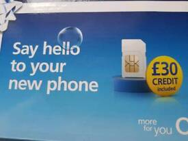 Iphone 7, unused and pay as you go sim with £30 credit, unused also
