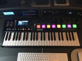 NEW AKAI ADVANCE 49 Midi Keyboard