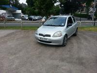 2003 Toyota Yaris VVTI, 1.3 Petrol, 12 Months Test, New Tyres All Round