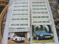 Jaguar Driver Magazines. 1991. Complete Year. 12 Issues
