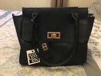 New with tags - Debenhams navy handbag