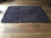 NEXT 100% Wool Brown Rug