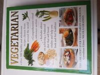 Vegetarian hardback cookery book