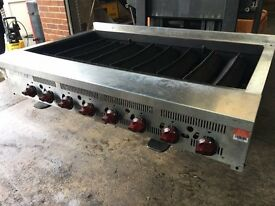 Hobart 8 Burner Gas Chargrill, best grill for Peri peri , 120 cm 4 foot grill