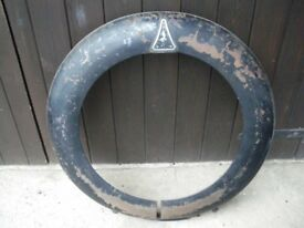 Wolseley 21/60 Spare Wheel Cover.