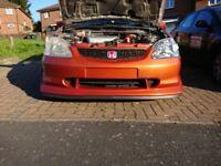 HONDA CIVIC K20 ENGINE SWAP! CHEAP INSURANCE!!