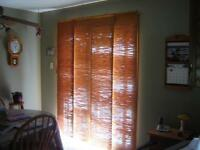 BAMBOO BLINDS FOR SLIDING DOOR/CURTAINS/WINDOW