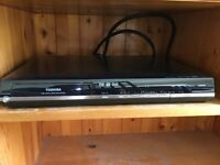 Toshiba DVD Video Recorder, D-R18DT-K-TB with built in Freeview.
