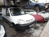 2007 CITROEN BERLINGO 600 LX SWB HC HDI (MANUAL DIESEL)(FOR PARTS ONLY)