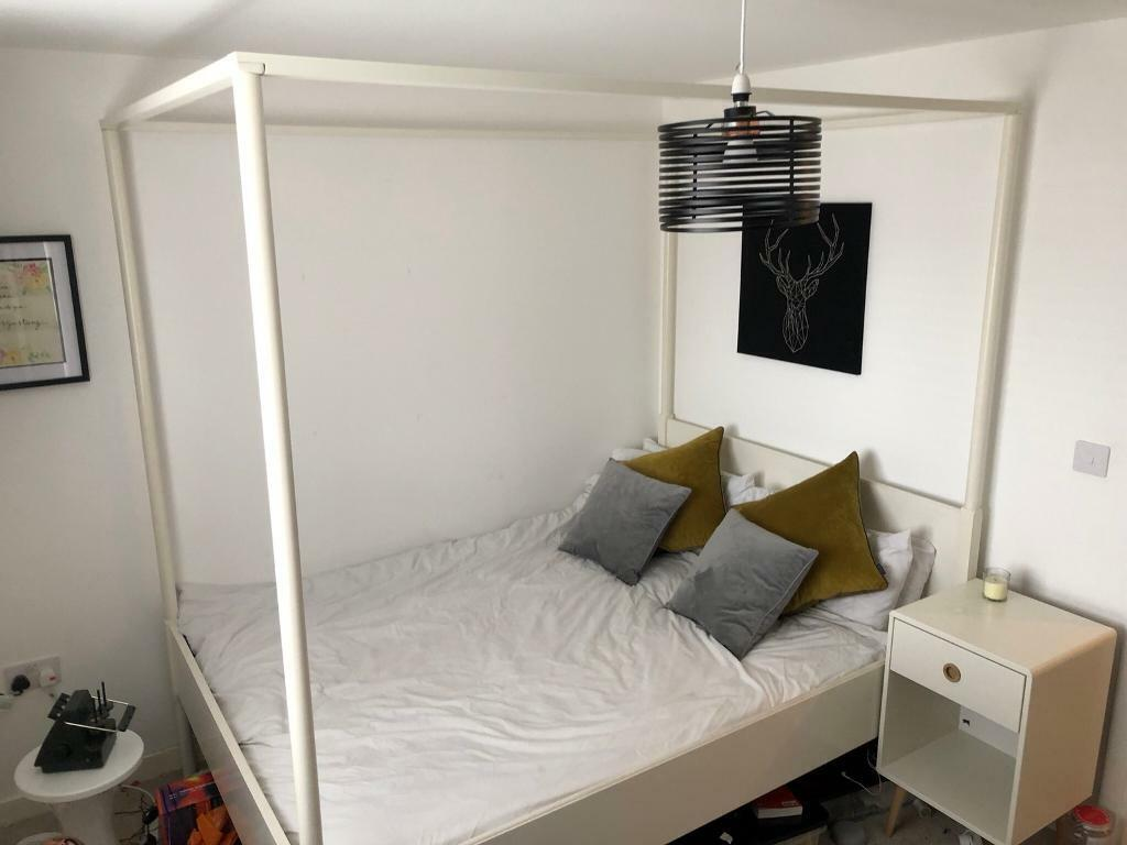 Ikea Edland Four Poster Double Bed Frame In Gloucester Gloucestershire Gumtree