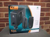Logitech S220 Speakers 2.1