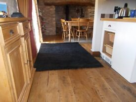 Rug/carpet IKEA Hampen black rug x 2 133 x 195 cm £20 each