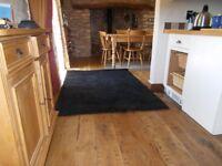 Rug/carpet IKEA Hampen black rug x 2 133 x 195 cm £20 each