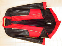 Assassin's style cosplay PU jacket