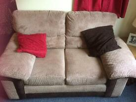 2 seat and 3 seat sofas