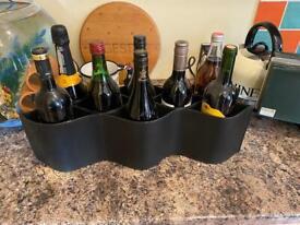 Vilvaldi leather wine bottle holders