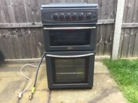 QUICK SALE REQUIRED: Freestanding 4 ring Gas Cooker hob, grill, oven.