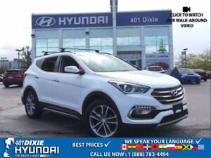 2017 Hyundai Santa Fe Sport 2.0T AWD|LEATHER|PANO SUNROOF|HEATED