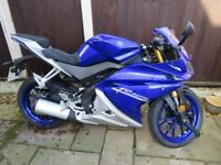 Almost new Yamaha YZF R125