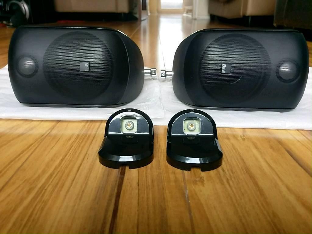 B Amp W M1 Bowers And Wilkins Home Cinema Speakers 1 Pair In