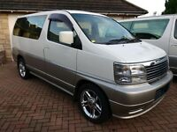 Nissan Elgrand 2wd & 4wd 3.3 V6 Auto Fresh import immaculate condition